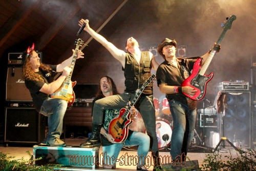 Rock am Camp 1  The Coverband Strongbow