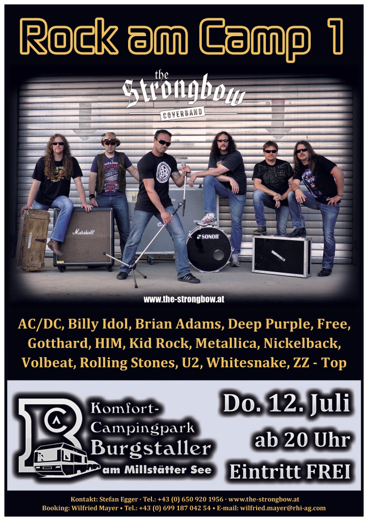 Rock am Camp 1 - Coverband Strongbow